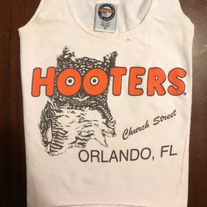 Used Orlando Hooters Girl Small Tank top